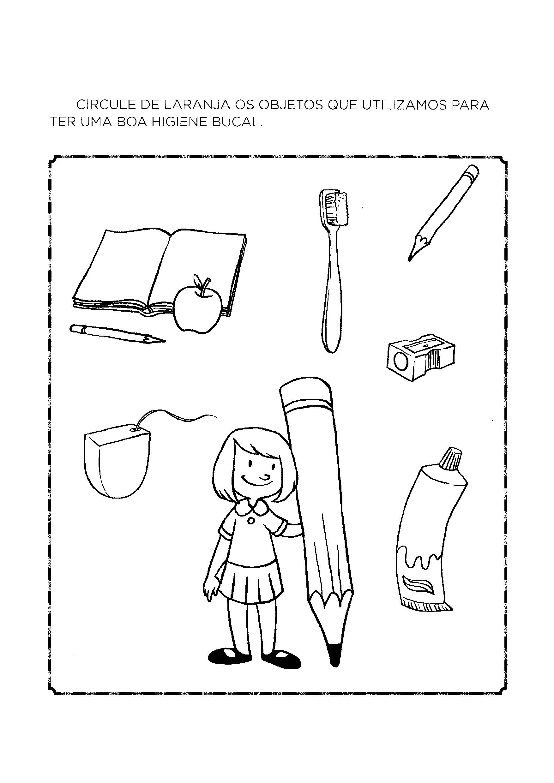 Atividades De Higiene Bucal Para Educacao Infantil So Atividades