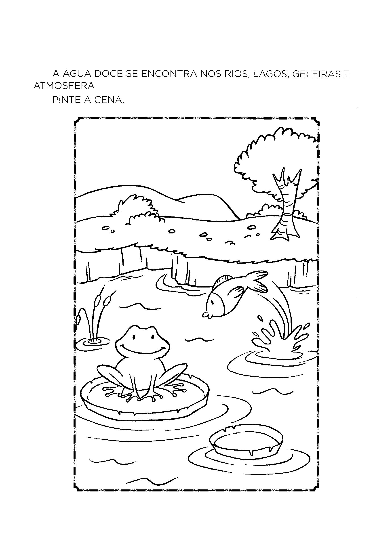 Onde encontramos água doce