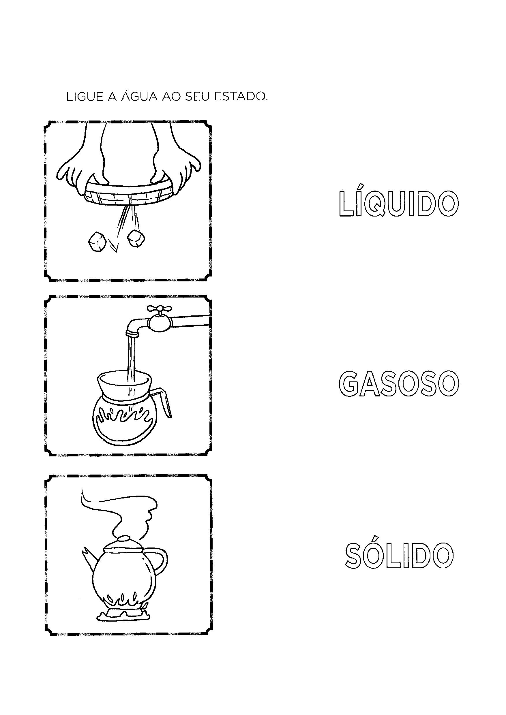 Ligar os estados da água