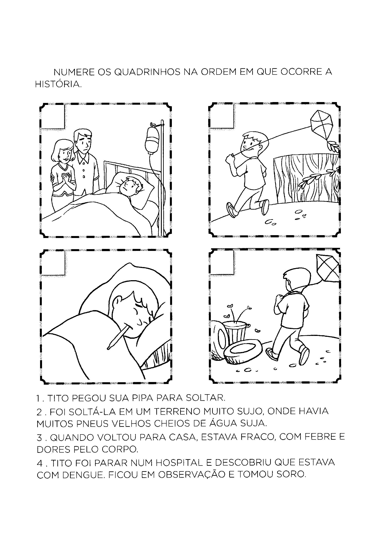 Numerar os quadrinhos