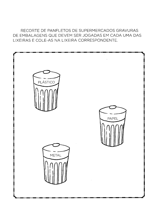 Recortar e colar gravuras