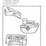 Numere os meios de transporte
