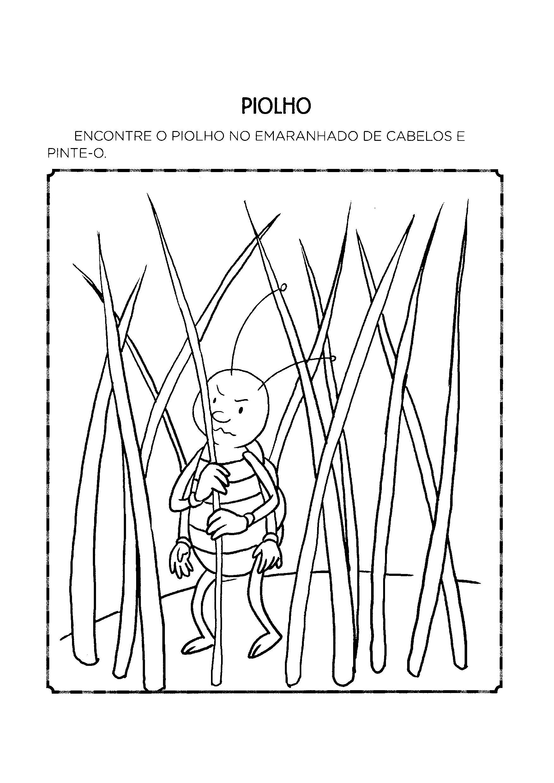 Encontre o piolho