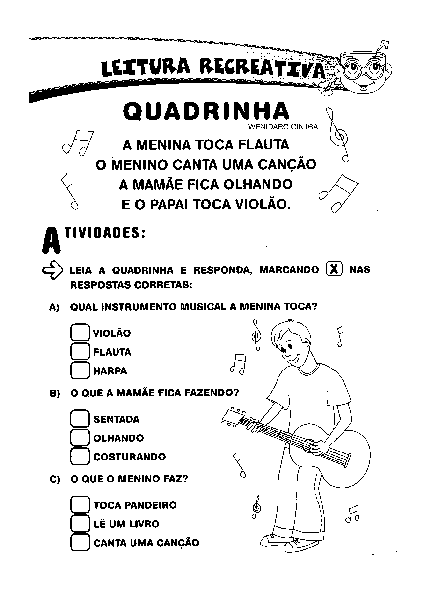 Leitura Recreativa - Quadrilha