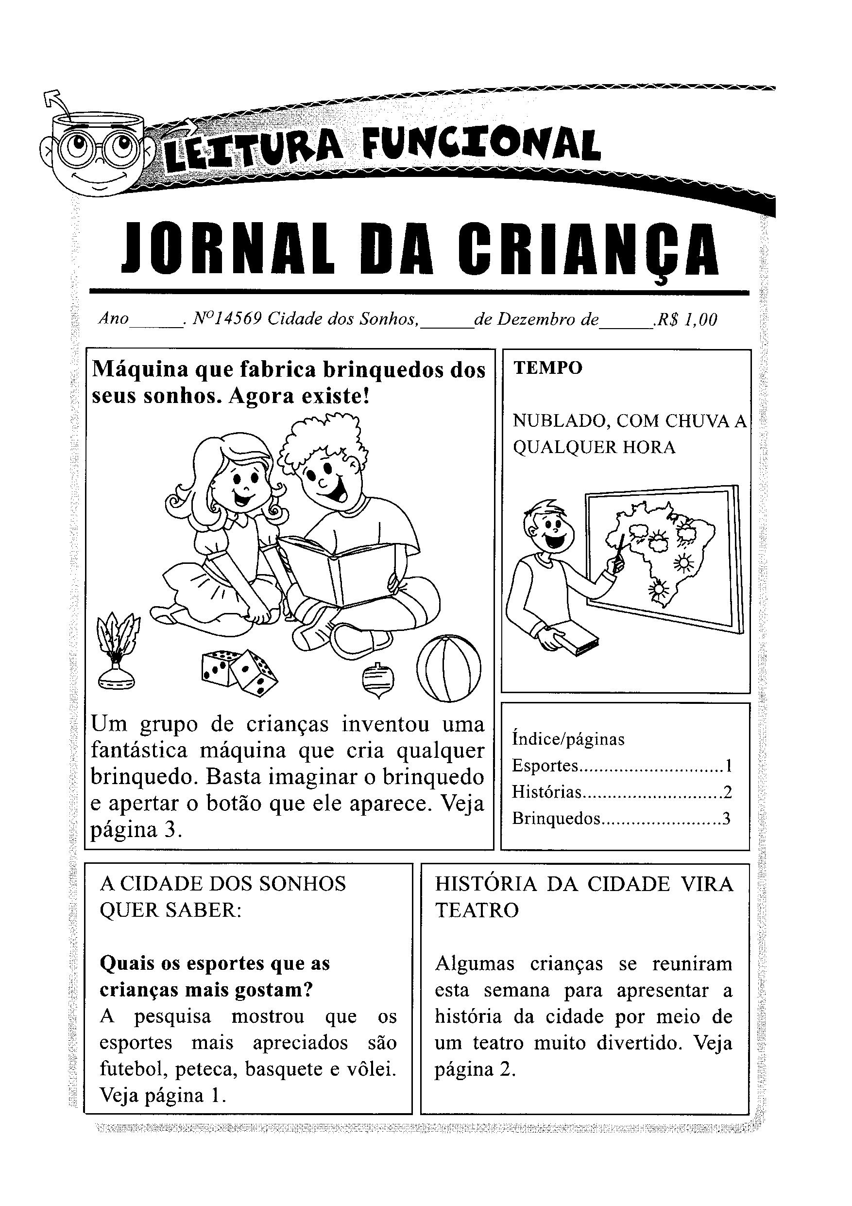 Leitura funcional - Manchete