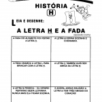 Ortografia - Letra H: A letra H e a fada