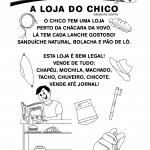 Texto Letra H: A loja do Chico
