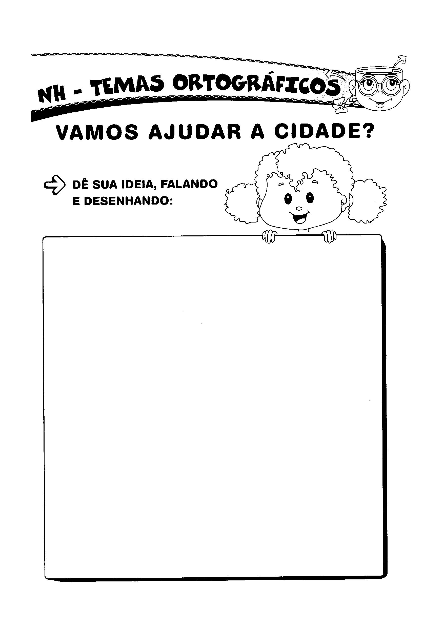 Letra NH - Desenhar
