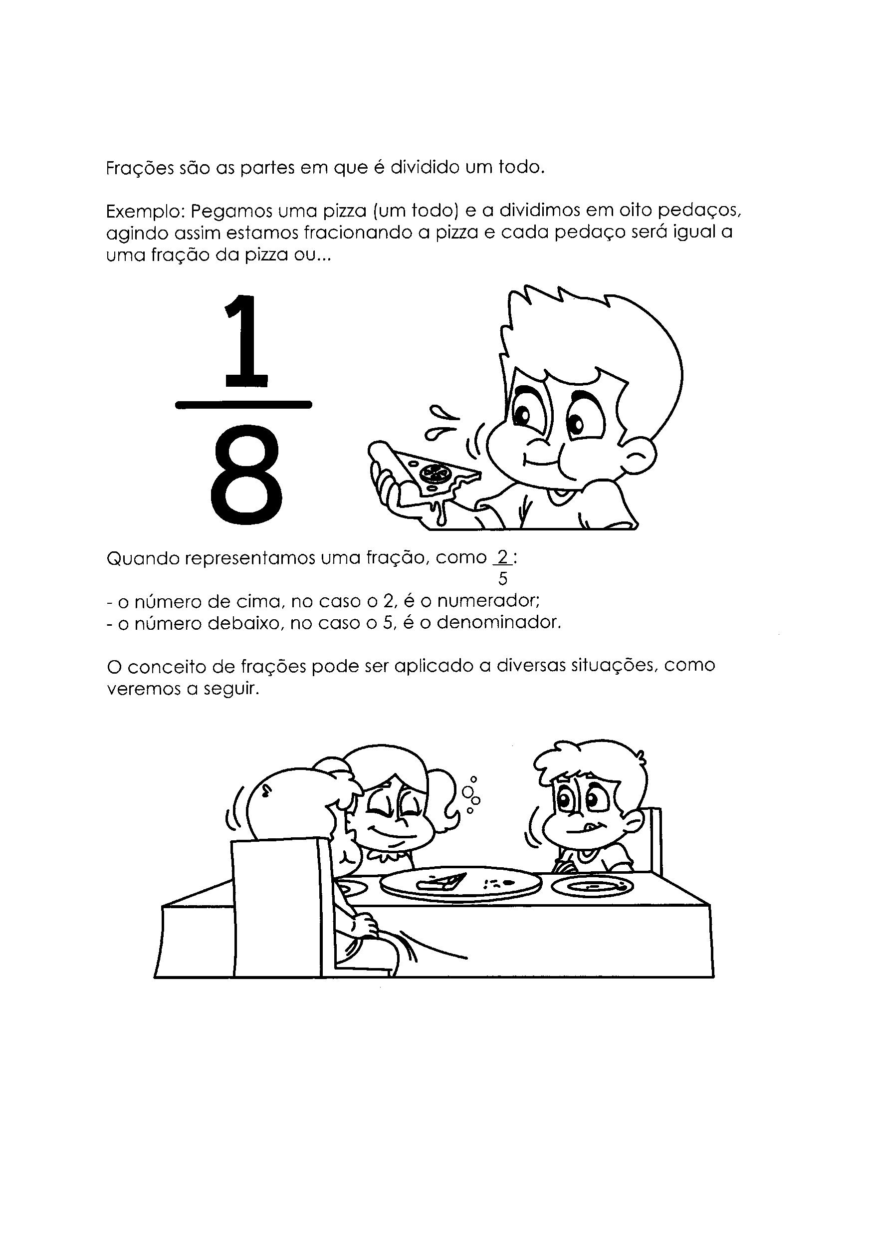Aprendendo Frações - 2