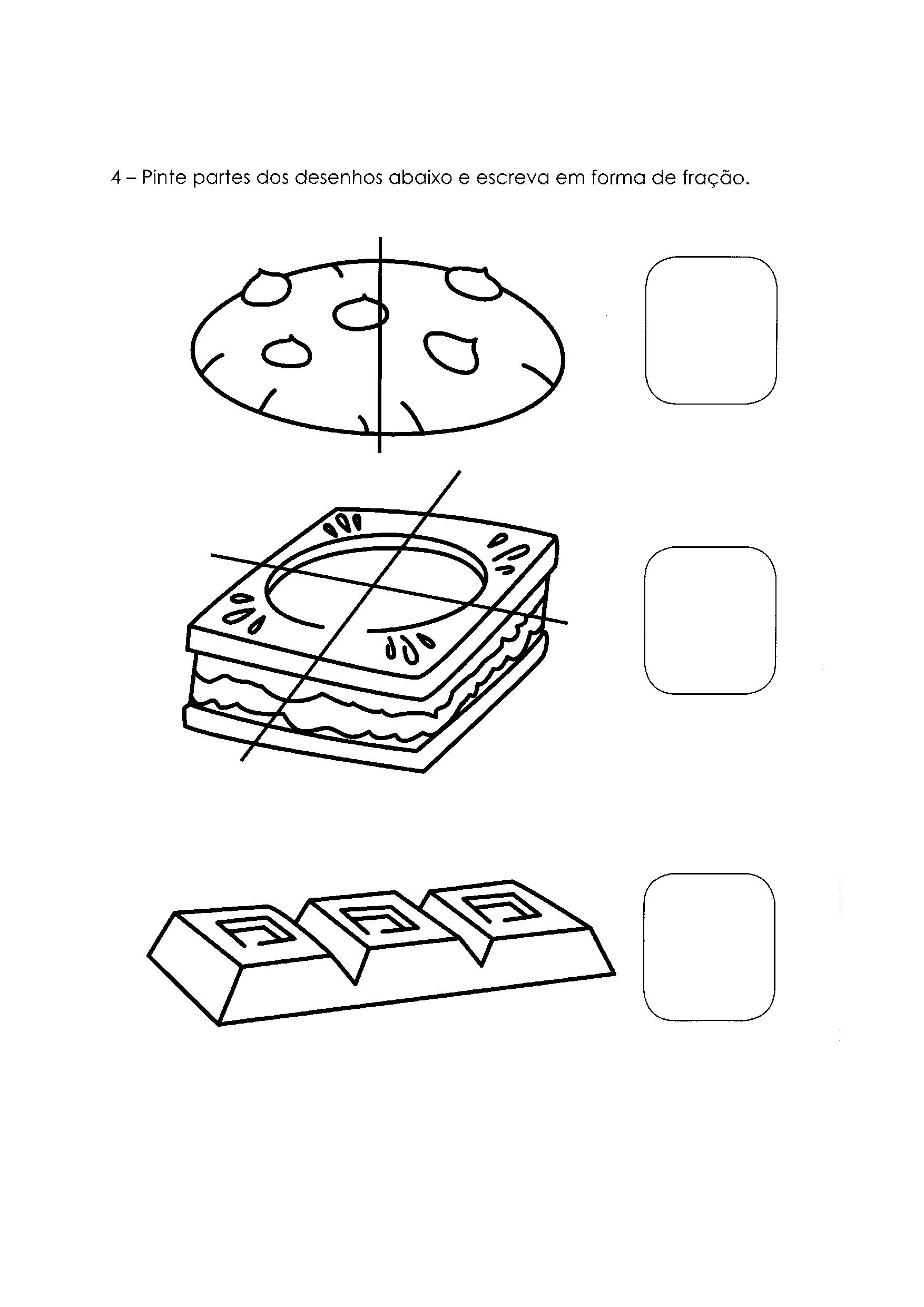 Atividades com Frações 2