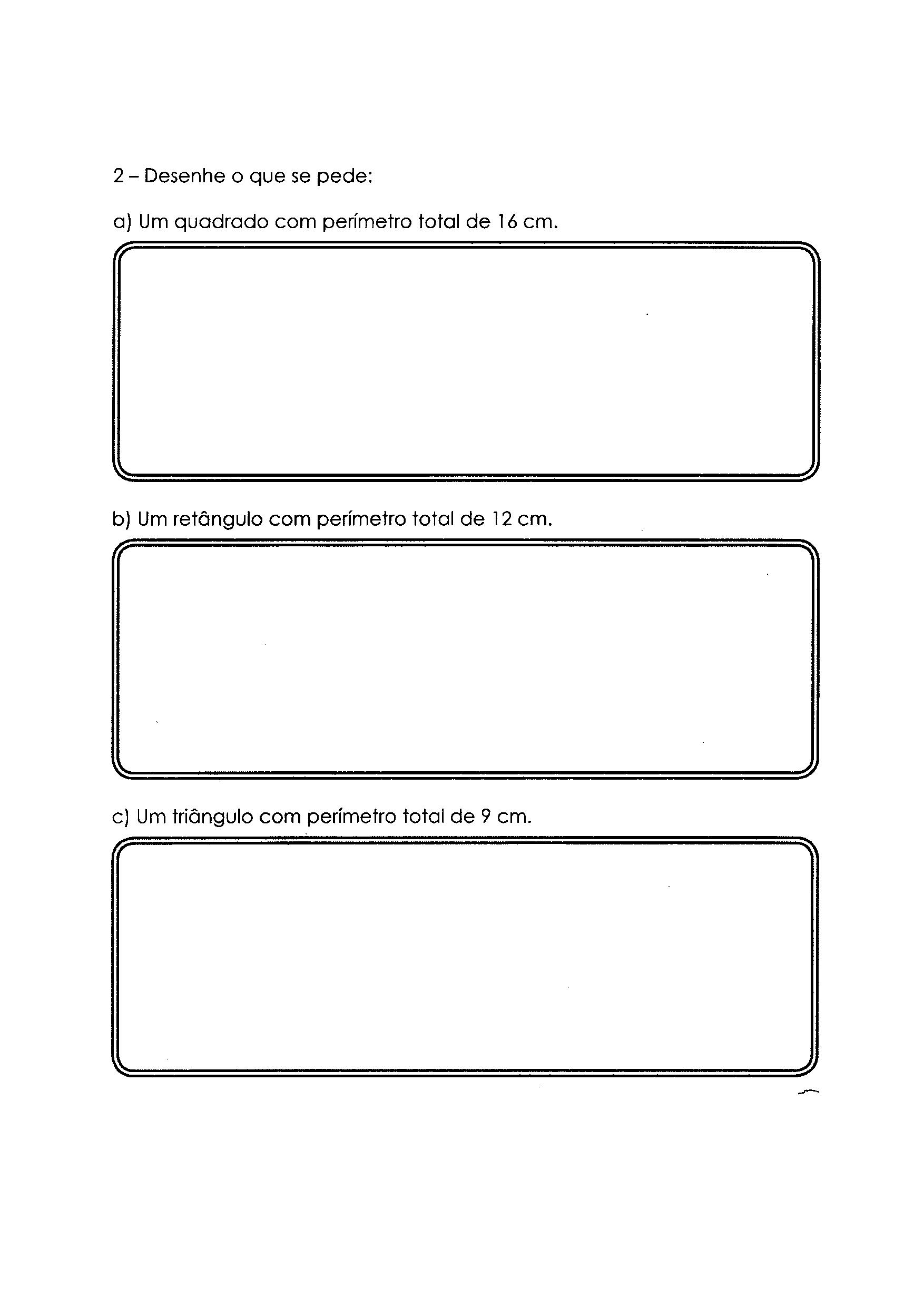 Perímetro - Atividade 2