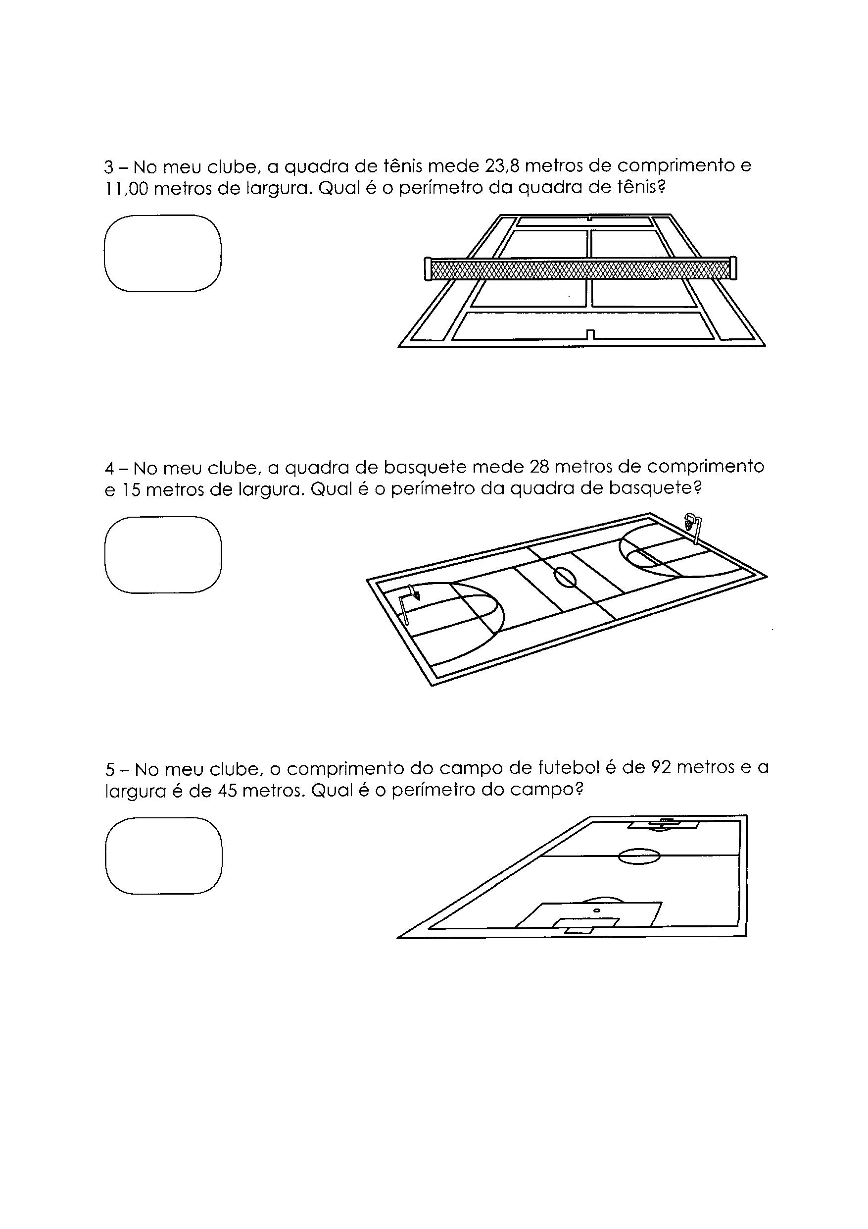 Perímetro - Atividade 3