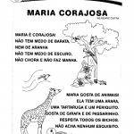 Poema: Maria Corajosa