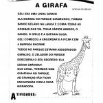 História: A Girafa