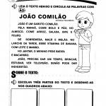 Texto: João Comilão