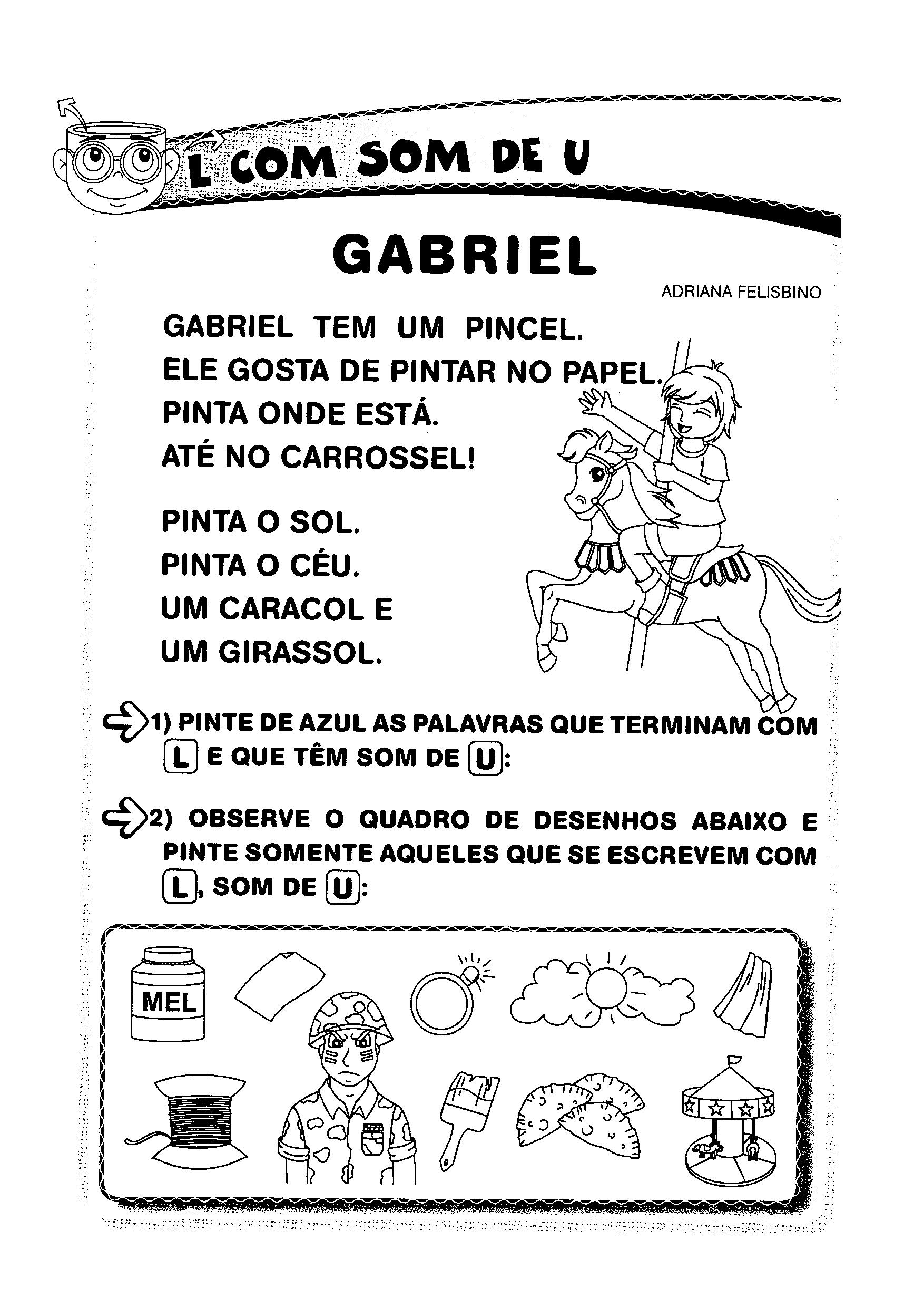 Poema - Gabriel