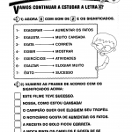 Atividade de significados e frases