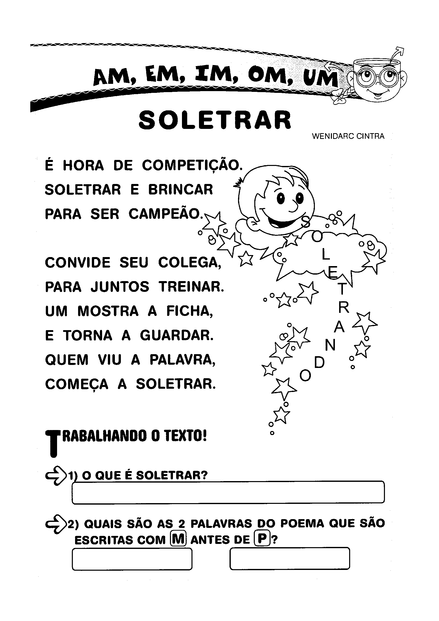 Texto: Soletrar